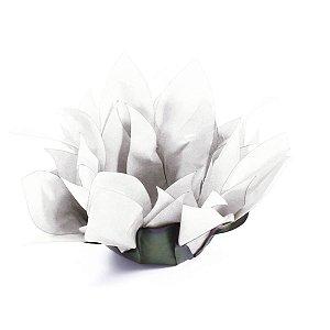 Forminhas para doces Bombom Flor de Cactus - branca