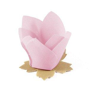 Forminhas para doces Nara - rosa claro