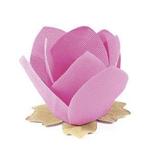 Forminhas para doces Nara - rosa médio