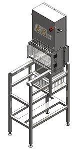 Máquina de Fracionar Queijo Coalho