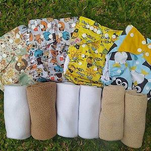 Kit introdução Fraldas ecológicas