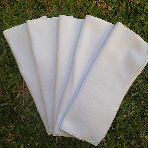 Kit 5 absorventes de moletom 6 camadas