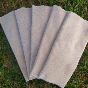Kit 5 absorventes de melton 4 camadas