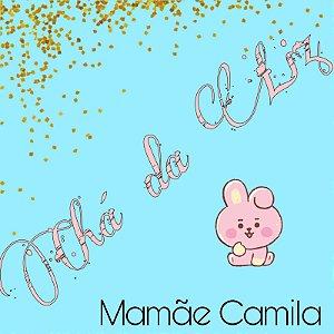 Chá da Liz - Mamãe Camila