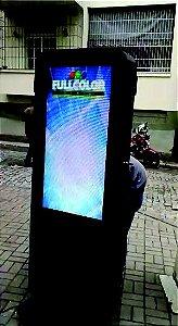 Totem Digital Outdoor Tela 43 pol painel de leds altissima resolução e brilho