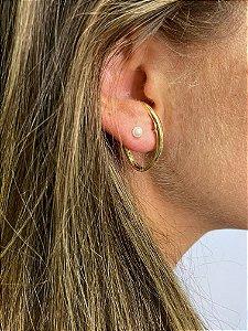 Brinco ear hook metal liso