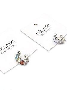 Piercing fake cristal