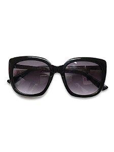 Óculos preto lente  degradê