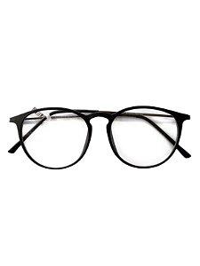 Óculos armação fininha preto