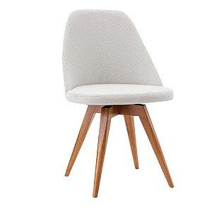 Cadeira Para Sala De Jantar Lucy J Marcon Fixa Cinza