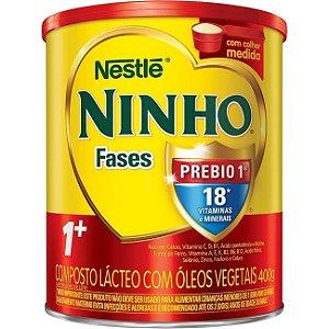 LEITE PO NINHO 1+CRESC.PREBIO 400 G