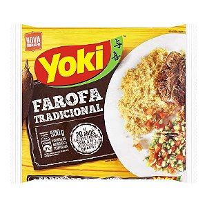 FAROFA MAND.YOKI TEMP.500G