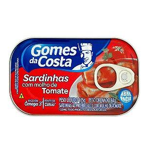 SARD.GOMES COSTA TOMATE 125G