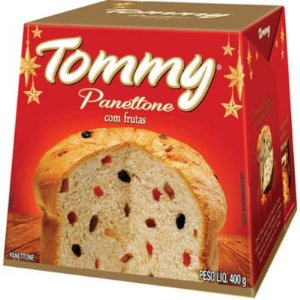 PANETTONE TOMMY FRUTAS 400G