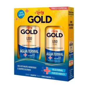 KIT SH.CO NIELY GOLD ORQ.LISO.PROF