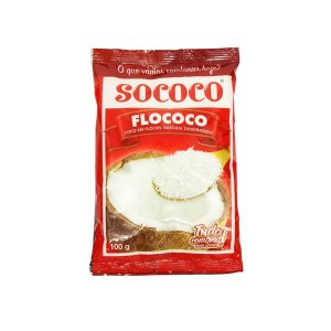 COCO RALADO 100G SOCOCO FLOCOCO
