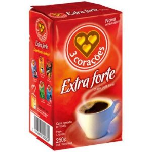 CAFE MOIDO 3 CORACOES 250G EXTRA FORTE