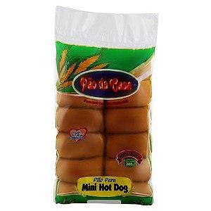 PAO DA CASA MINI HOT DOG 300G