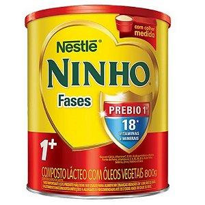 LEITE PO NINHO 1+PREBIO FASES 800 G