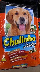 RACAO CAO CHULINHO CARNE 7KG