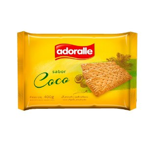 BISC.ADORALLE 400G COCO