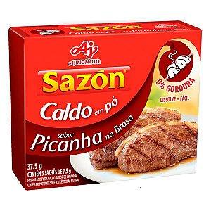 CALDO SAZON 37,5G PICANHA NA BRASA