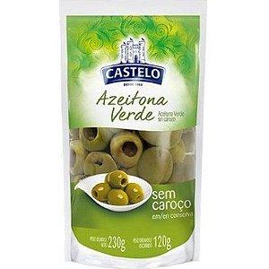 AZEITONA S/CAROCO CASTELO 120G