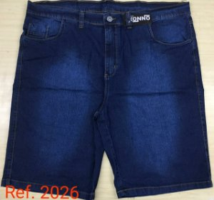 Bermuda Jeans Stretch Masculina Plus Size 2026
