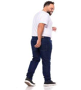 Calça Jeans Stretch Com Bigode Masculina Plus Size 50 ao 78 2071