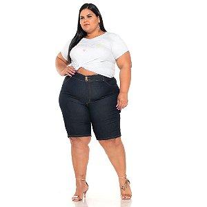 Bermuda Ciclista jeans Stretch Amaciada Feminina 44 ao 70 3251