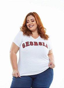 T-shirt  Georgia Branca XP ao G5