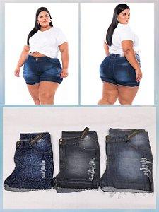 Short Jeans Stretch Rasgado Sortido PROMOCIONAL