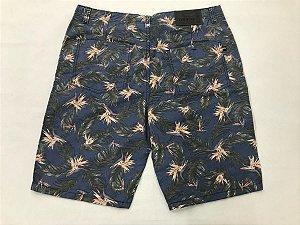 Bermuda de Sarja Masculina Estampada 07 Plus Size 50 ao 78 2023