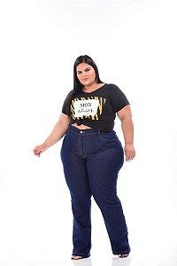 Calça Jeans Feminina Flare Plus Size 44 ao 62 3078