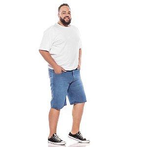 Bermuda Jeans Stretch Delavê Masculina Plus Size  66 ao 78  2063
