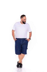 Bermuda Jeans Masculina c/ Cordão e Elástico XP ao G5 1426