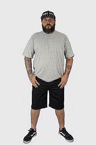 Bermuda Jeans Masculina Preta Plus Size 50 ao 64 2010
