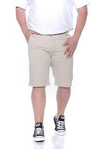 Bermuda Sarja Com Elastano Bege Plus Size 66 ao 78 2019