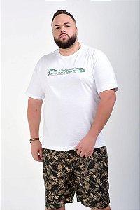 Bermuda de Sarja Masculina Estampada 01 Plus Size 50 ao 78 2023
