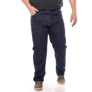 Calça Jeans masculino stretch super stone plus size 2060