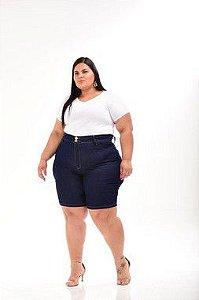 Bermuda Jeans Feminina Pequenos Defeitos 68 70
