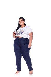 Calça Jeans Stretch Amaciado Feminina Plus Size 3175
