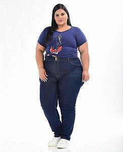 Calça Jeans Stretch  Feminina Plus Size 3151