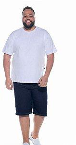 Bermuda Jeans Stretch Masculina Plus Size 2055