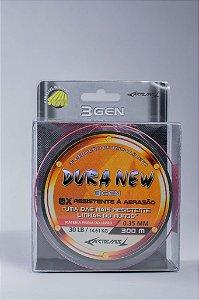 Linha Dura New 0,35mm  c/ 300m  monofilamento LARANJA