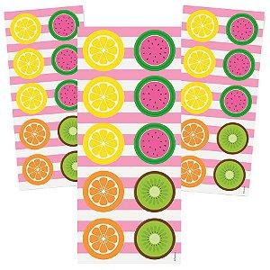 Adesivo da Quitandinha para Lembrancinhas kit 3 cartelas