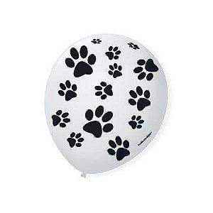 Balão Bexiga Decorada Patinha N 9 pct com 25 unid