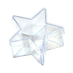Caixinha de Acrílico Estrela 7x4 kit com 10 unid