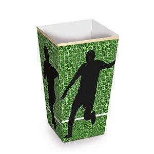 Caixinha de Pipoca Futebol kit com 10 unid