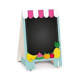Cavalete para decoração de festas tema Quitandinha kit 2 unid